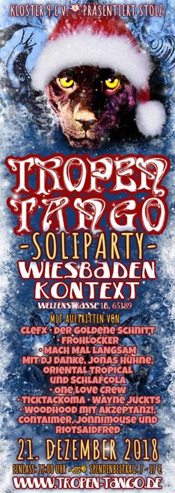 Tropen Tango 2018 Soliparty